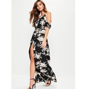 Floral dress -missguided